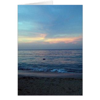 ジャマイカの日の出 カード
