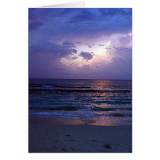 ジャマイカの日没 カード