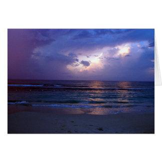 ジャマイカの日没 グリーティングカード