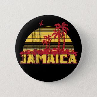 ジャマイカの楽園 5.7CM 丸型バッジ