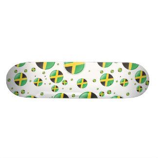 ジャマイカの泡旗 カスタムスケートボード