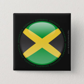ジャマイカの泡旗 缶バッジ