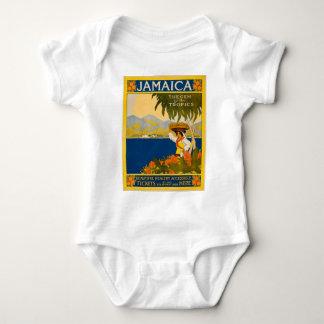 ジャマイカの熱帯地方の宝石 ベビーボディスーツ