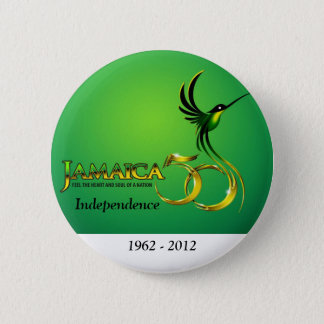 ジャマイカの独立ボタンかバッジ 缶バッジ