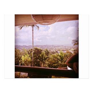 ジャマイカの眺め ポストカード