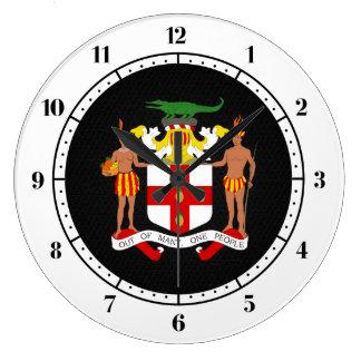 ジャマイカの紋章付き外衣 ラージ壁時計