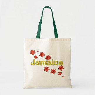 ジャマイカの花のバッグ トートバッグ