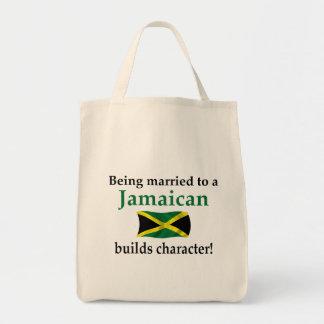ジャマイカの造りのキャラクター トートバッグ