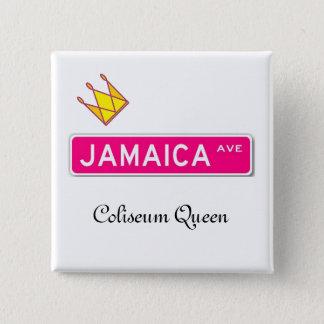 ジャマイカの道のコロシアムの女王ボタン 缶バッジ