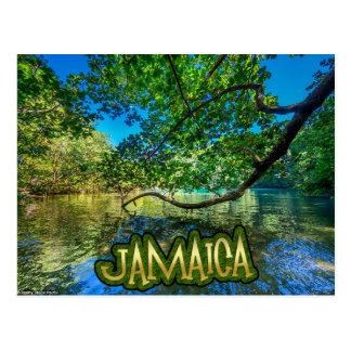 ジャマイカの青い礁湖、港Antonio ポストカード