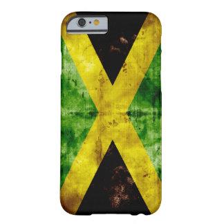 ジャマイカの風化させた旗 BARELY THERE iPhone 6 ケース