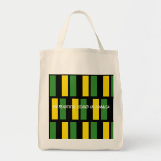 ジャマイカの食料雑貨のトートバック トートバッグ