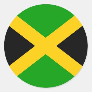 ジャマイカの高品質な旗 ラウンドシール