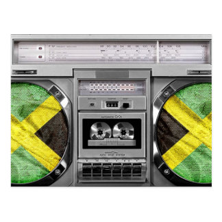 ジャマイカのboombox ポストカード