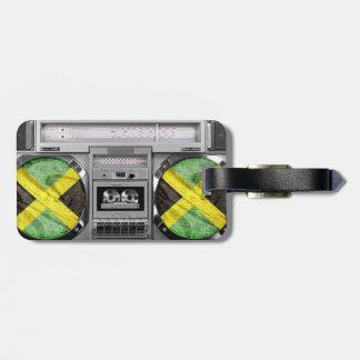 ジャマイカのboombox ラゲッジタグ