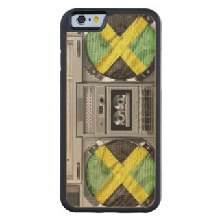 ジャマイカのboombox CarvedメープルiPhone 6バンパーケース