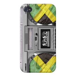 ジャマイカのboombox iPhone 4/4S カバー