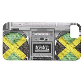 ジャマイカのboombox iPhone SE/5/5s ケース