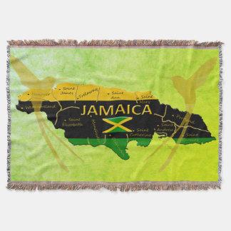 ジャマイカは教区の日光のブランケットを着色します スローブランケット