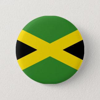 ジャマイカボタンの旗 5.7CM 丸型バッジ