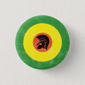 ジャマイカモダンなターゲットボタン 3.2CM 丸型バッジ