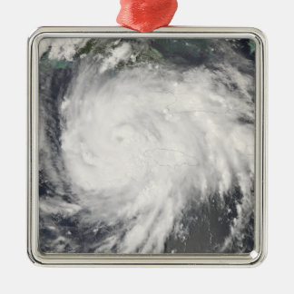 ジャマイカ上のハリケーングスタフ メタルオーナメント