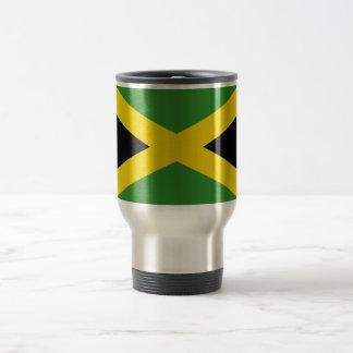 ジャマイカ旅行または通勤者のマグの旗 トラベルマグ