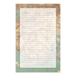 ジャマイカ湾およびブルックリン 便箋