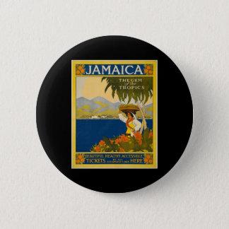 ジャマイカ熱帯地方の宝石 缶バッジ