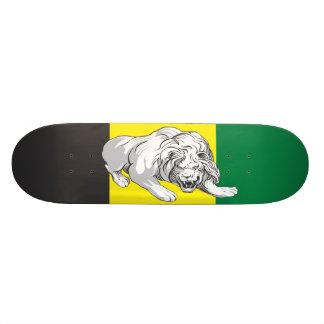 ジャマイカ色のライオン スケボー