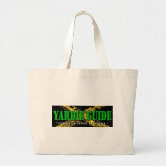 ジャマイカ色のYardieガイドHangbag ラージトートバッグ