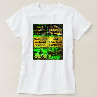 ジャマイカ色は何を定義しますか、または意味しますか。 Tシャツ