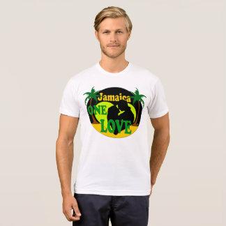 ジャマイカ1枚の愛日没の新婚旅行のTシャツ Tシャツ