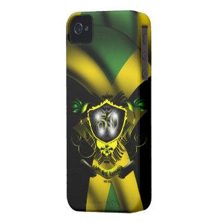 ジャマイカ50のお祝いのIphone 4/4Sの穹窖の箱 Case-Mate iPhone 4 ケース