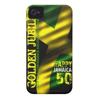 ジャマイカ50の金記念祭のIphone 4/Sの穹窖の箱 Case-Mate iPhone 4 ケース