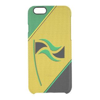 ジャマイカ クリアiPhone 6/6Sケース