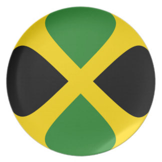 ジャマイカFisheyeの旗のプレート プレート