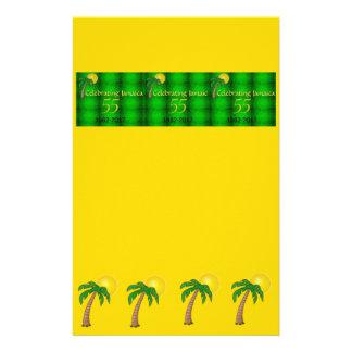 ジャマイカIndepenceの紙 便箋