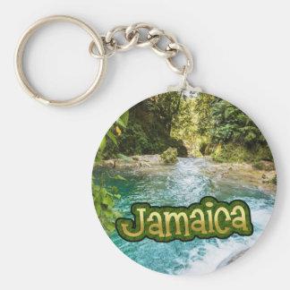 ジャマイカIrieの青い穴、Ocho Rios キーホルダー