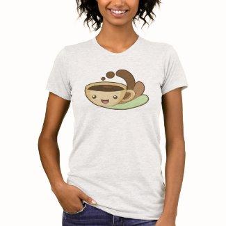 ジャワの朝 レディースTシャツ
