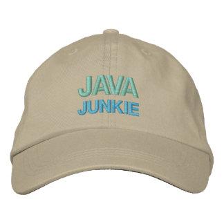ジャワの麻薬常習者の帽子 刺繍入りキャップ