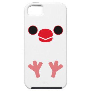 ジャワ|すずめ|(白) Case-Mate iPhone 5 ケース