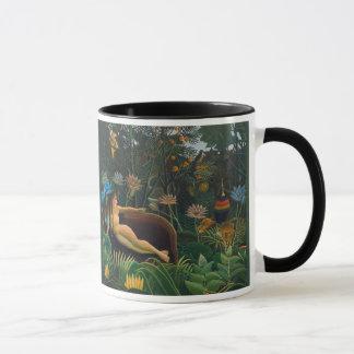 ジャングルによってはCC0690アンリーRosseauのコーヒー・マグが夢を見ます マグカップ