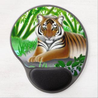 ジャングルのゲルのマウスパッドの若いベンガルトラ ジェルマウスパッド