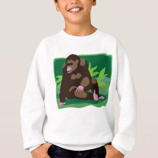 ジャングルのサル スウェットシャツ