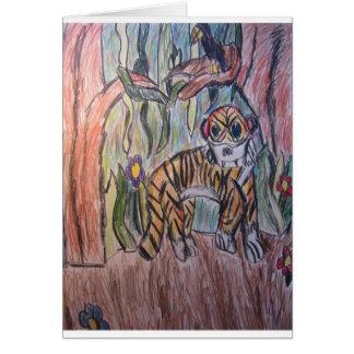 ジャングルのトラ カード