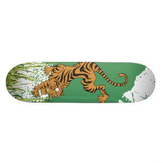 ジャングルのトラ 21.6CM スケートボードデッキ