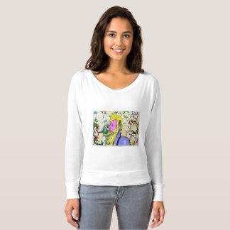 ジャングルのパンクロックミュージシャン Tシャツ