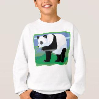 ジャングルのパンダくま スウェットシャツ