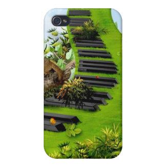 ジャングルのピアノ iPhone 4/4S ケース